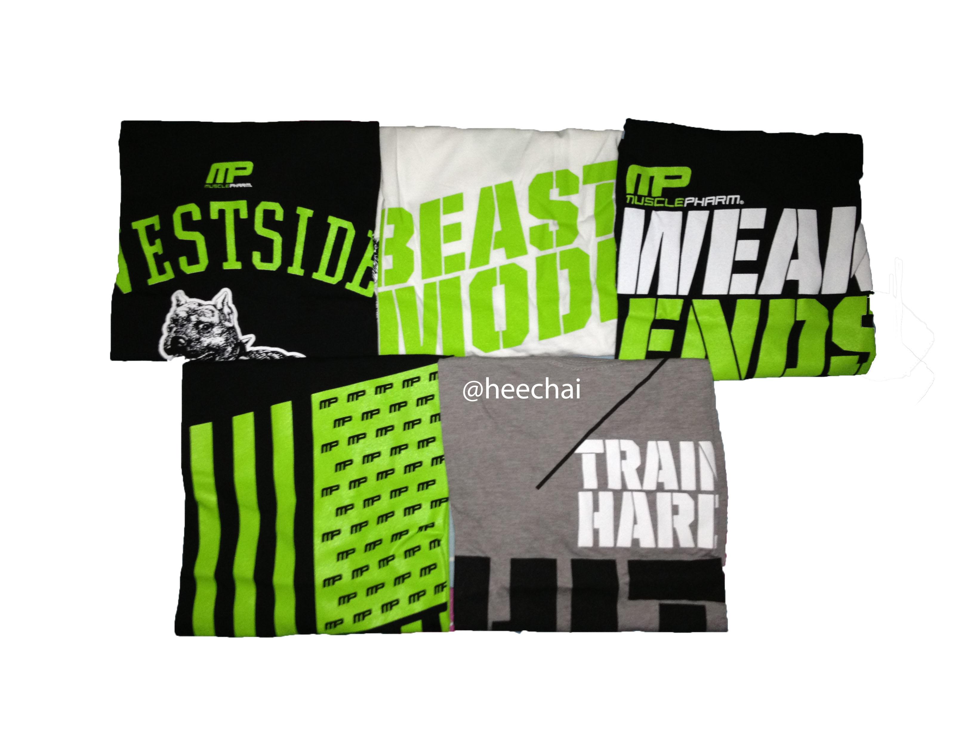 a2032d6d MusclePharm T-Shirt Review - heechai.com