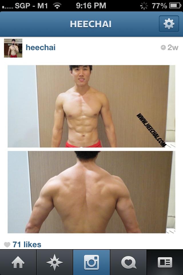 week 10, intermittent fasting, heechai.com, fitness blogger singapore, fat lost