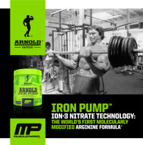 NutriFirst exclusive in Singapore – Arnold Iron Pump Supplement Review