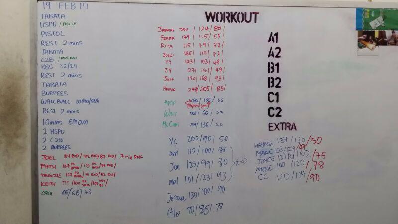 workout iron fitness singapore