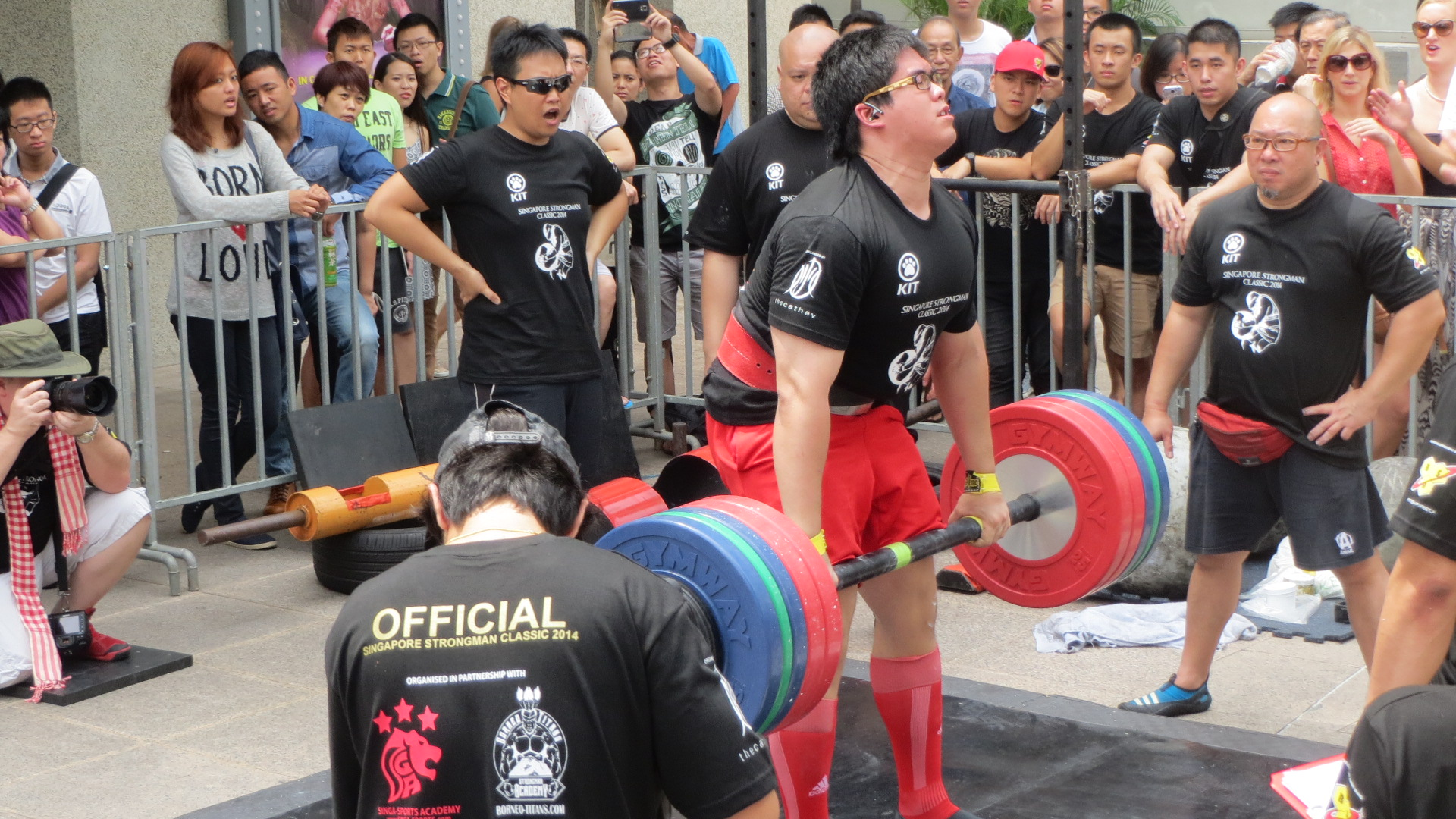 singapore strongman classic