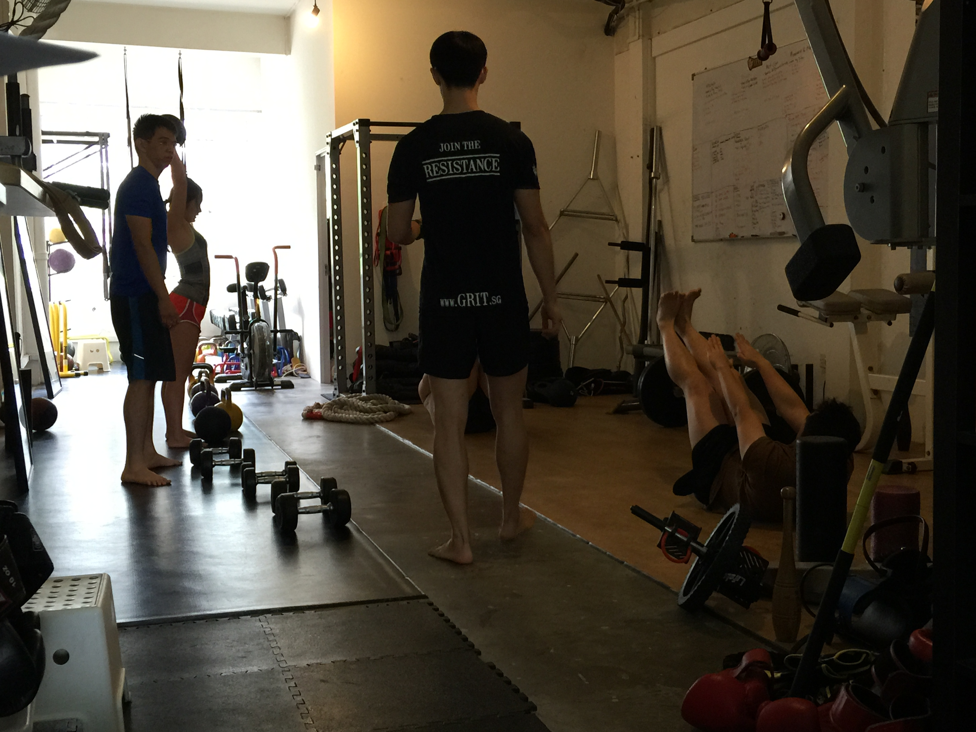 grit singapore training for warrior
