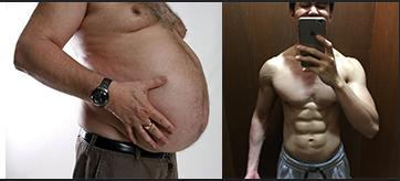 burn fat gain muscle