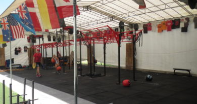 Visit to CrossFit Bukit Timah, Singapore Biggest Outdoor Crossfit Box!